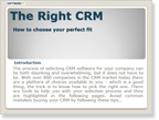 Guide to Picking the Right CRM Software